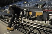 Aufbauhelfer, Hands, Stagehands, VA-Techniker für Ihre Veranstaltung.