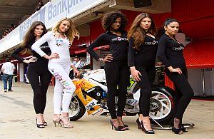 Unsere Grid-Girls sind die Rasing-Queens auf Motorsport Events.