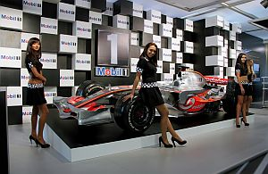 Grid-Girls, Eventpersonal und Messe-Models bei Automobilausstellungen und Messen.