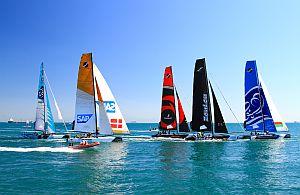 Segel Regatta im Meer. Wir organisieren für Ihre Incentive Gruppe die gesamt Reise.