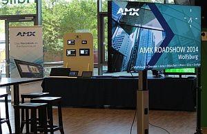 Erfolgreiche Roadshow von AMX.