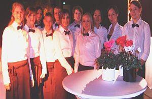 Freundliches Servicepersonal, Kellner, Barmixer für Ihr Event