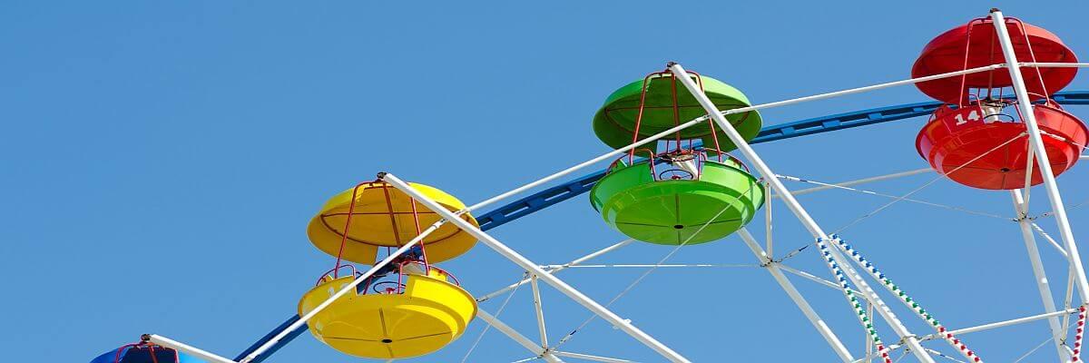 Riesenrad. Höhenflug für Ihre Mitarbeiter. Betriebsausflüge und Incentivereisen von all about event.
