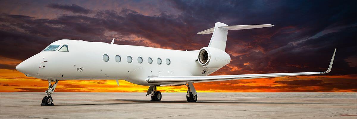Ein Jet für Ihre VIPs. VIP-Reisen von all about event.