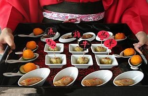 Stehempfang asiatisches Catering
